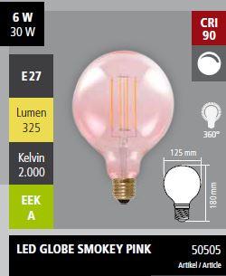 Abb. 1 (Smokey Pink Globe 50505)