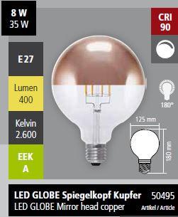 Abb. 1 (Globe Spiegelkopf Kupfer 50495)