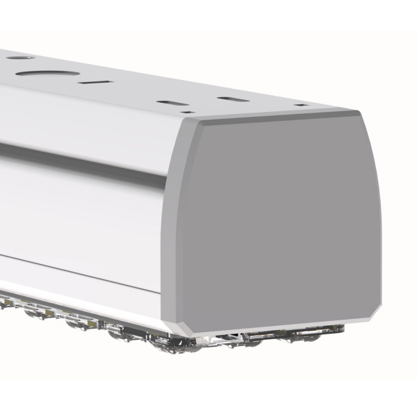 Abb. 2 (LED-Lightline 150-6, 36W, 90°, connect, DALI)