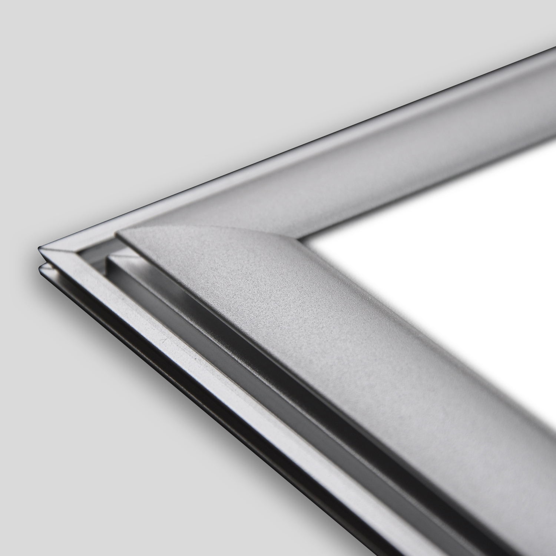 led panel light 39w 123x33 anbau da wh 39w 3400lm cri 80 4000k weiss incl montagezubeh r. Black Bedroom Furniture Sets. Home Design Ideas